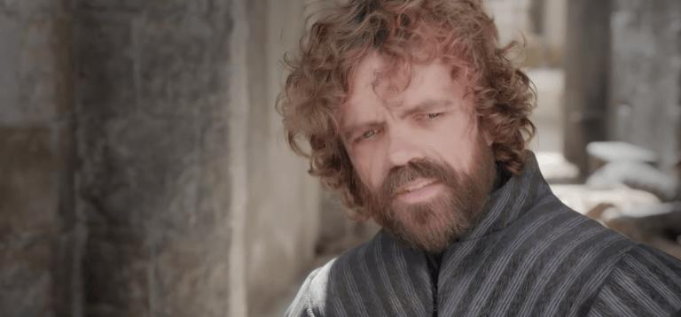 飾演提利昂蘭尼斯特 (Tyrion Lannister) 的彼得汀克萊傑 (Peter Dinklage)。