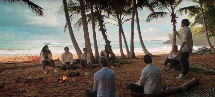 Netflix 科幻迷你影集《I 島》(The I-Land) 劇照。