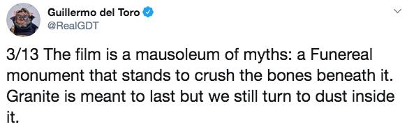 吉勒摩戴托羅對馬丁史柯西斯《愛爾蘭人》的比喻。