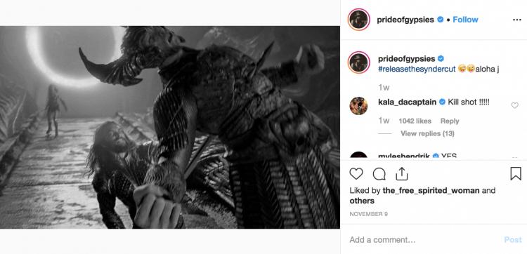 「水行俠」傑森摩莫亞強調已看過史奈德剪輯版,並表示與院線版《正義聯盟》有相當顯著的差異。