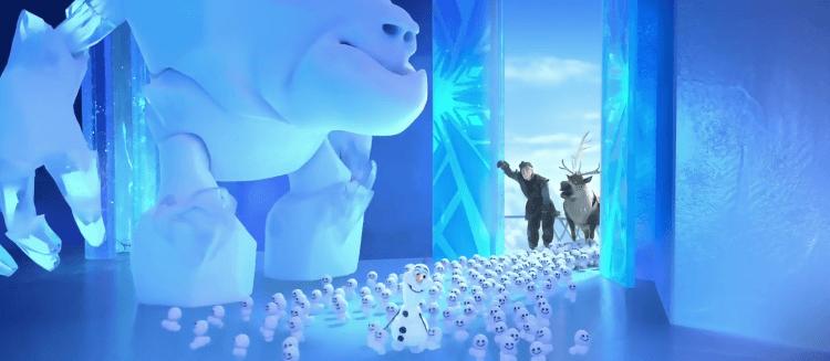 《冰雪奇緣:驚喜連連》雪寶的小夥伴們