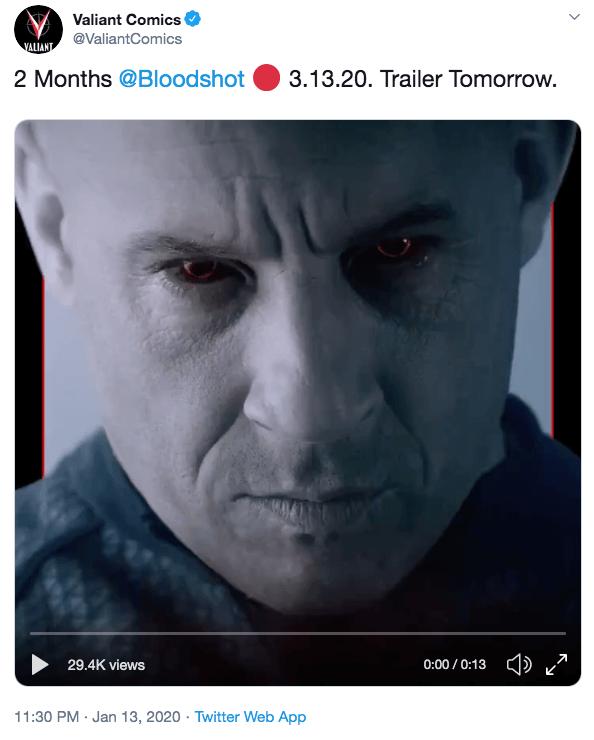 《血衛》全新預告登場。