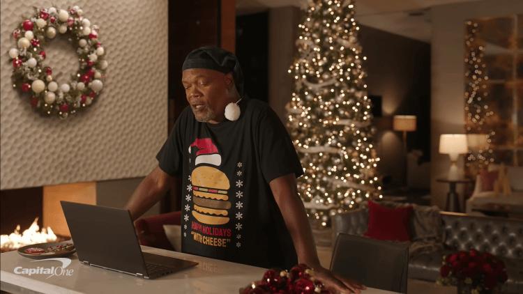 山繆傑克森以及起司漢堡 T 恤。
