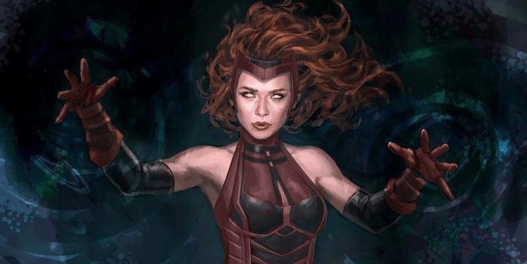 緋紅女巫。