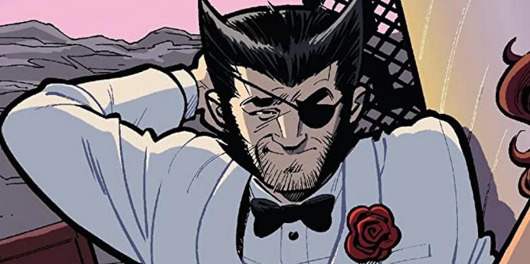 漫畫中金剛狼帶上眼罩,化身成假身份「Patch」。