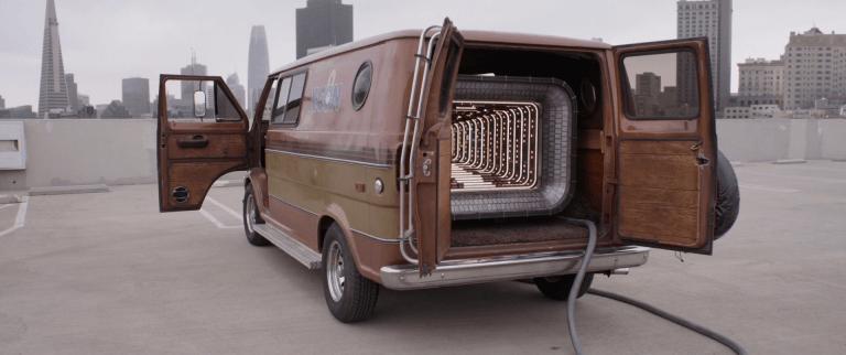 蟻人的量子領域實驗廂型車