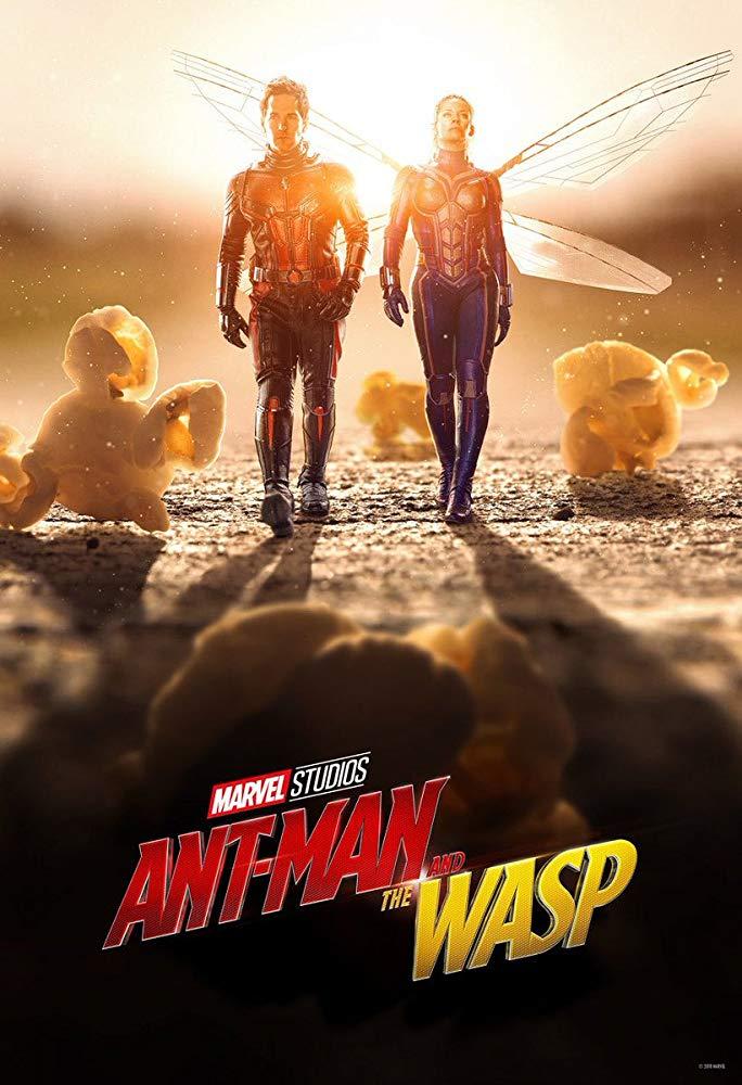 漫威 最迷你的超級英雄《 蟻人與黃蜂女 》海報。