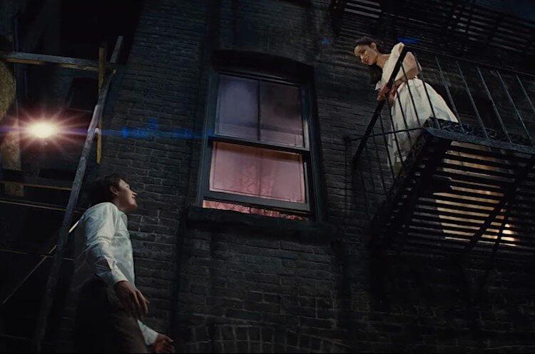 史蒂芬史匹柏版《西城故事》劇照。