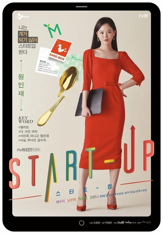 《Start-Up》備受矚目的青年創業家元仁才(姜漢娜 飾)。
