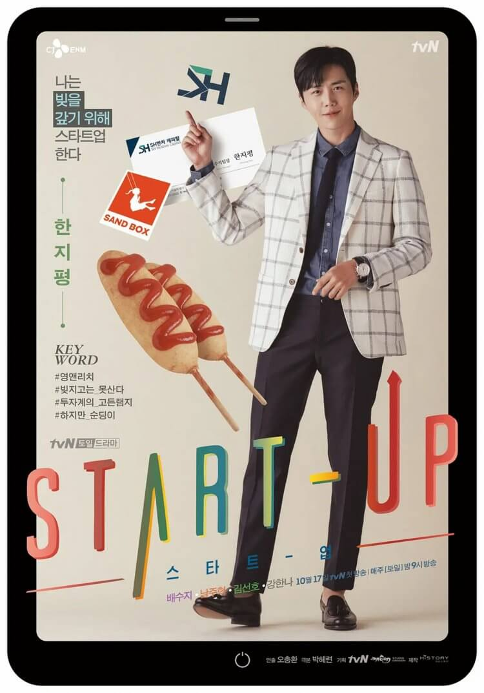 《Start-Up》眼光獨到的投資高手韓志平(金宣虎 飾)。