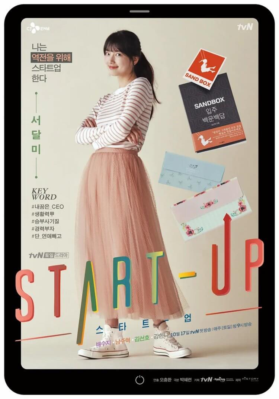 《Start-Up》立志成為韓國賈柏斯的徐達美(裴秀智 飾)