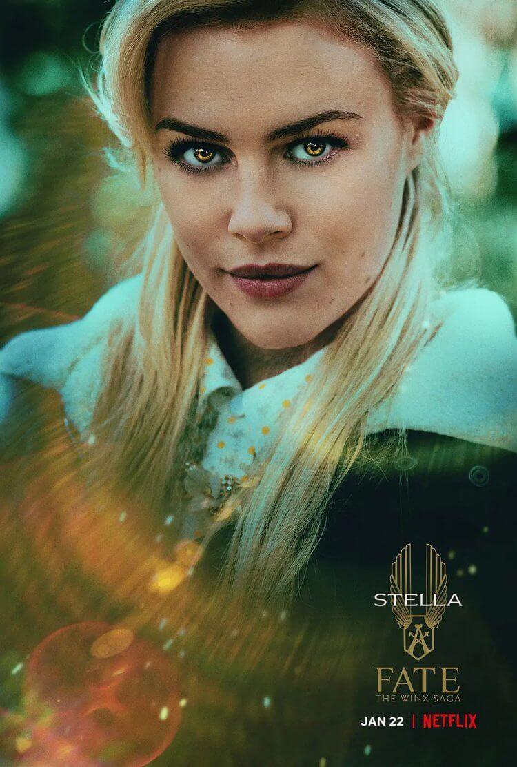 絲黛娜 (Stella)/耀眼的日月仙子。