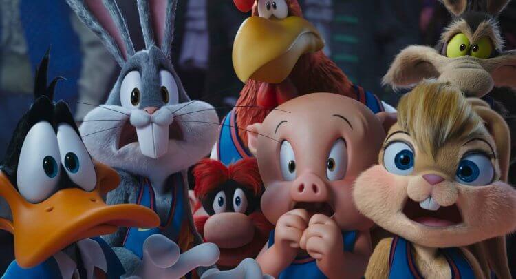 詹皇與兔巴哥等樂一通卡通明星組隊打球,電影《怪物奇兵 全新世代》暑假登場 (1)