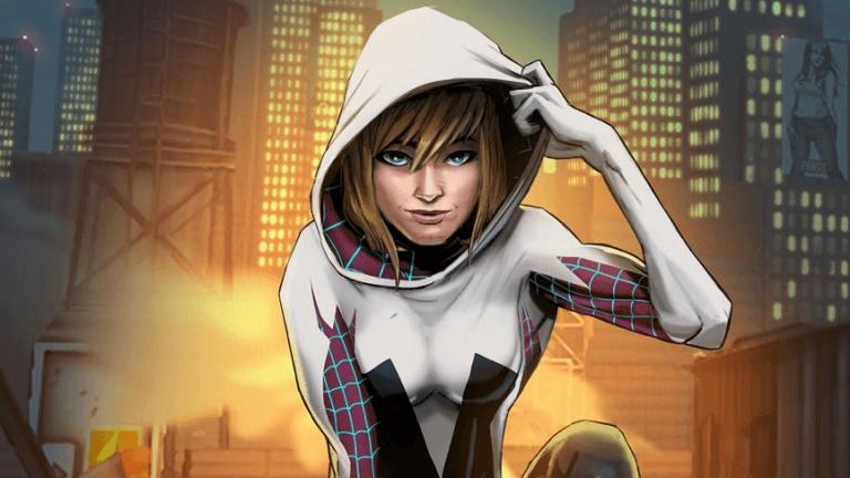 《蜘蛛人:新宇宙》中的超酷蜘蛛人:關史黛西。