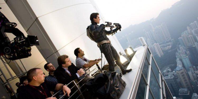 諾蘭堅持使用膠卷拍攝電影。