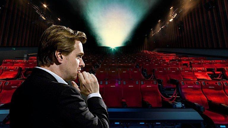當電影院受到疫情衝擊,諾蘭導演決定大聲說出他對電影院的愛