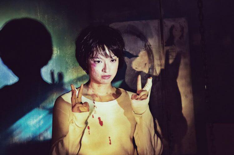白石和彌導演電影《變態粉絲綁架案》北原里英。