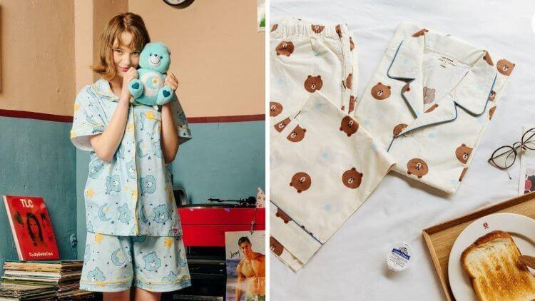 賴在家就想來一件睡衣,春夏秋冬都可以穿的韓國聯名睡衣,挑一件喜歡的快下訂!首圖
