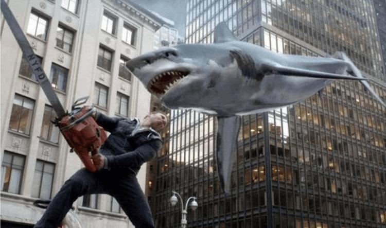《風飛鯊》劇照。