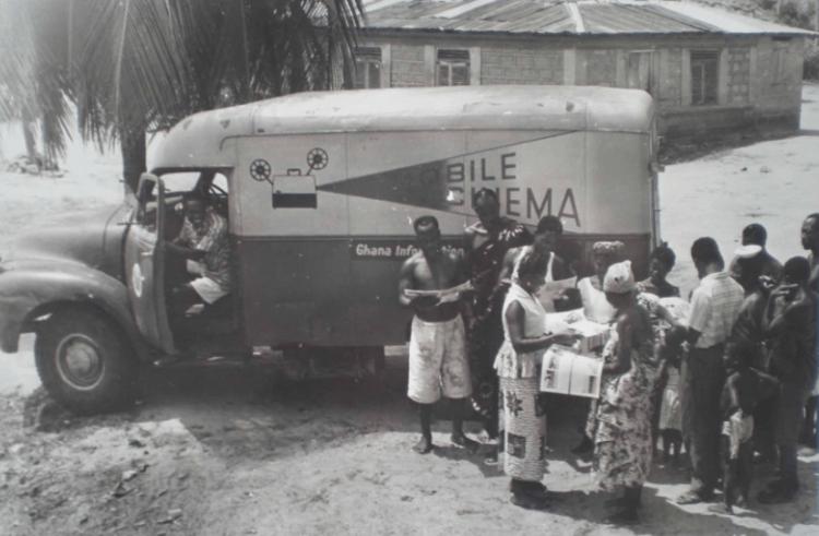迦納巡迴電影院。