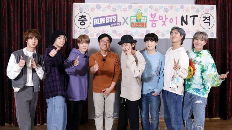 韓綜《出差十五夜》與防彈少年團團綜《Run!BTS》合作