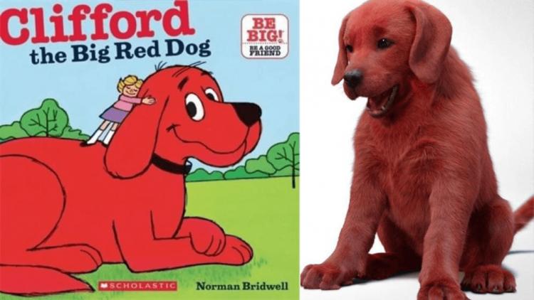 這條狗狗「紅」的不對勁!知名繪本《大紅狗克里弗》真人電影釋出前導短片,卻引網友熱議首圖