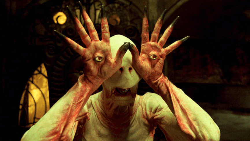 《羊男的迷宮》眼睛長在手掌裡的蒼白惡魔