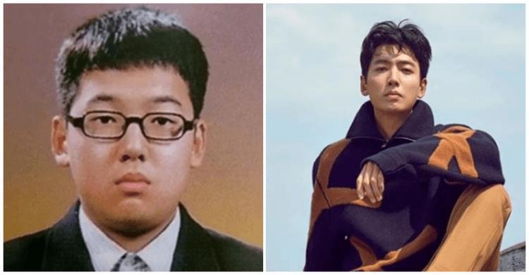 鄭敬淏以前是小胖弟。