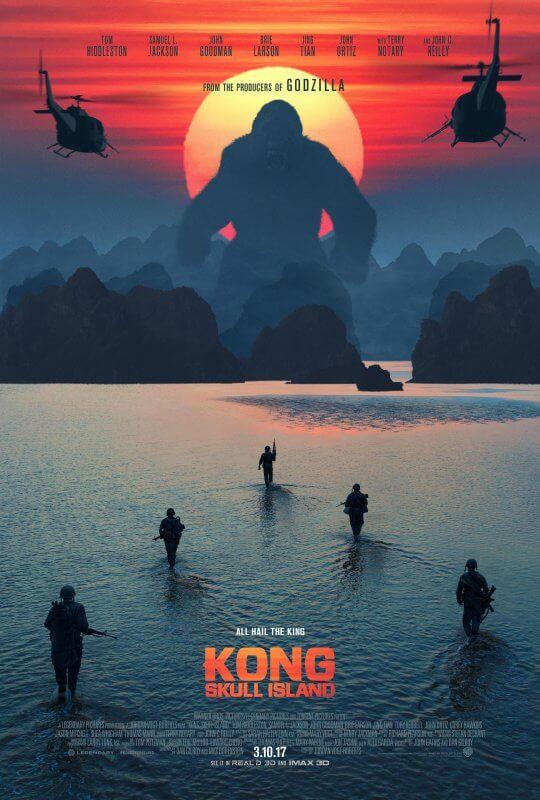 《金剛:骷髏島》。