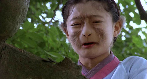 金裕貞在《九尾狐:狐狸小妹傳》飾演半人半狐的角色