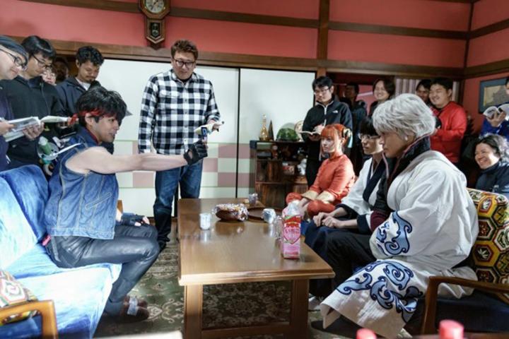 《 銀魂2 》中,柳樂優彌 變身 阿宅 ,與 小栗旬 菅田將暉 橋本環奈 對戲。