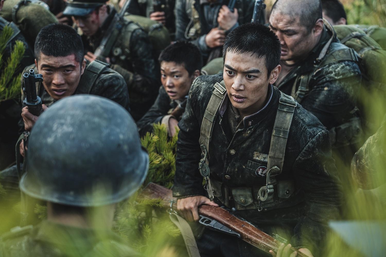 韓國歷史真實事件改編的電影《長沙里之戰》劇照。