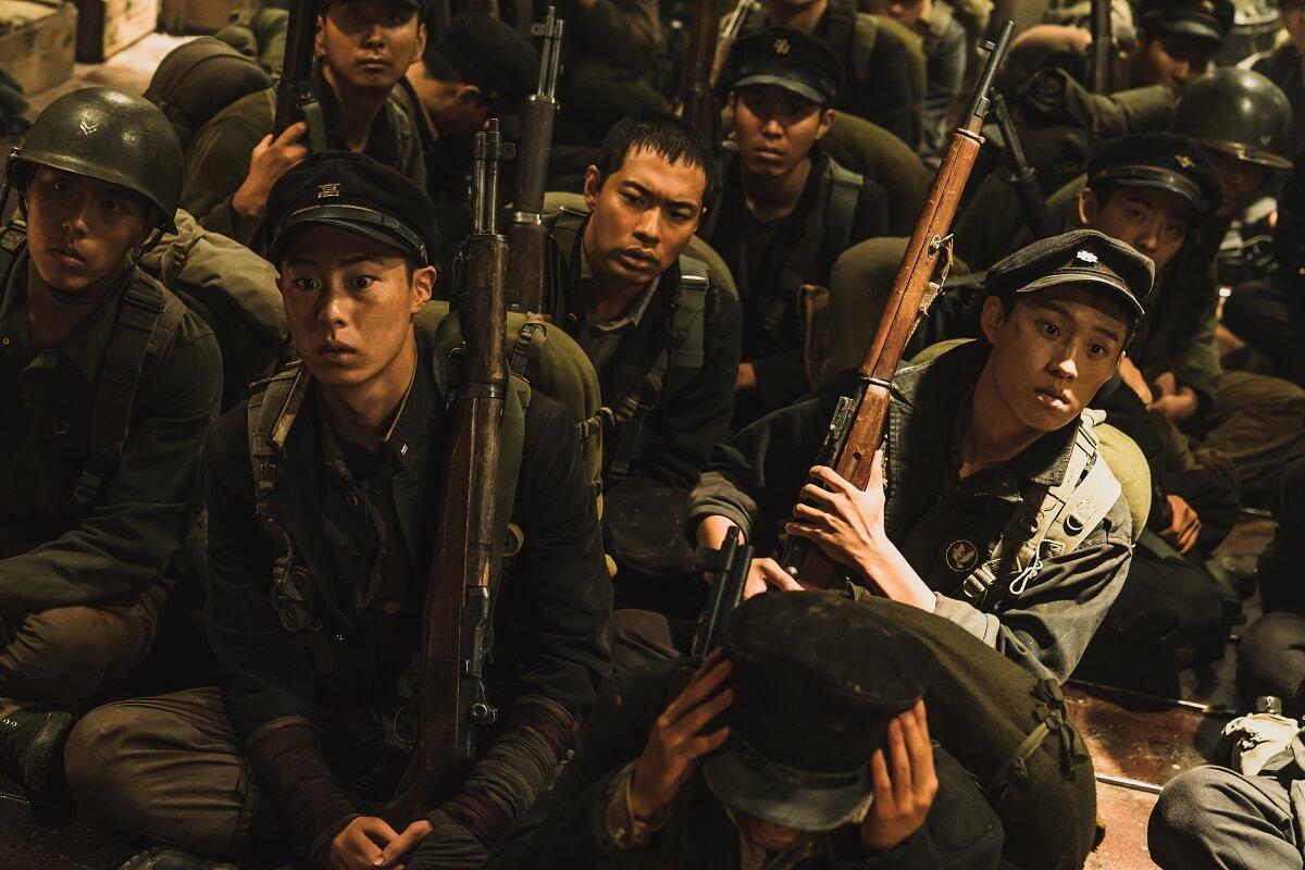 韓戰真實戰役改編《長沙里之戰》電影劇照。