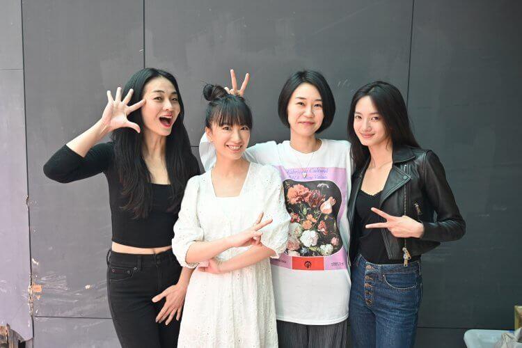 《喰之女》主演陳雪甄、韓寧、劉黛瑩,以及導演中西舞。