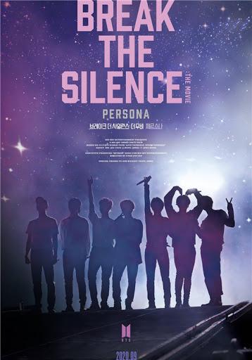 防彈少年團紀錄片《BREAK THE SILENCE: THE MOVIE》海報