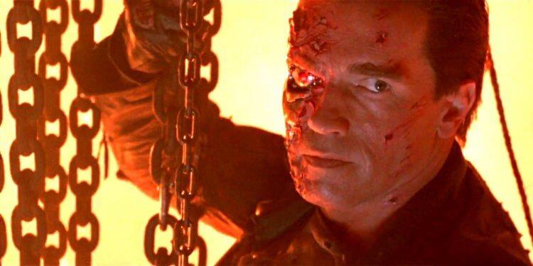 《魔鬼終結者2:審判日》阿諾史瓦辛格。