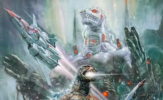《哥吉拉對機械哥吉拉》展示強大武力的這尊外星科技結晶,日後也出現在好萊塢大片《一級玩家》當中。