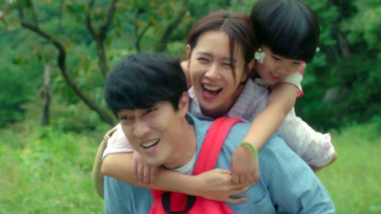 《雨妳再度相遇》片中蘇志燮飾演單親父親,學習如何做一位好爸爸。