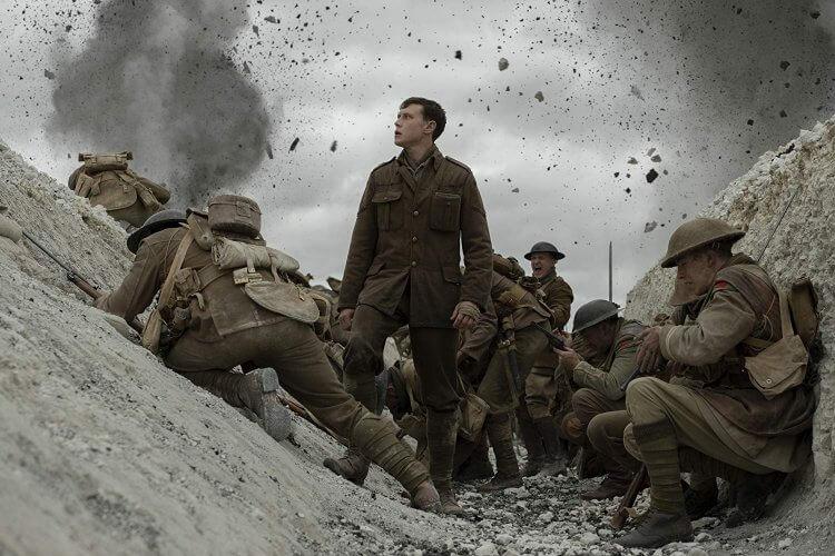 電影《1917》被韓網友票選為年度最愛海外電影