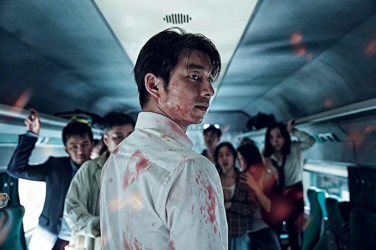孔劉主演的《屍速列車》。