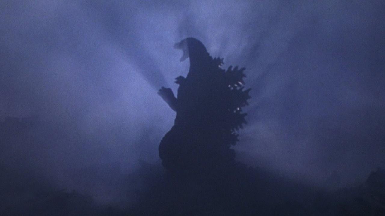 1995 年東寶特攝怪獸片《哥吉拉 vs 戴斯特洛伊亞》的最後,哥吉拉將從大銀幕「退場」的最後一個畫面。