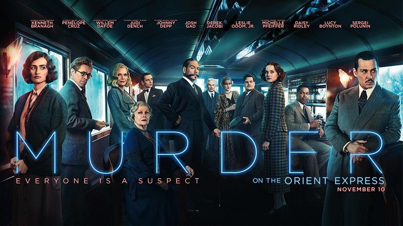 【影評】《東方快車謀殺案》(Murder on the Orient Express):倒吃甘蔗的密室殺人事件。首圖