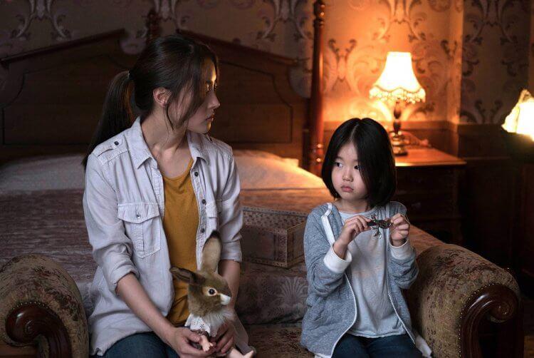 韓國恐怖片《靈異 405 號房》劇照。