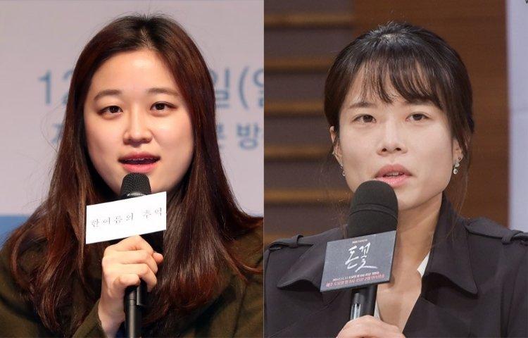 韓國影劇女導演-沈娜妍(左)、金希元(右)