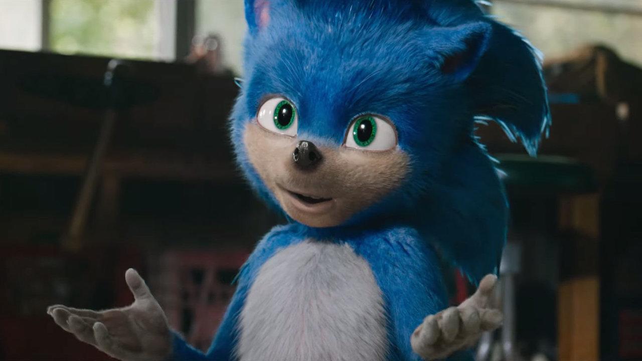 派拉蒙影業將於 2019 年下半推出的真人版電玩改編電影《音速小子》,日前曝光的索尼克樣貌。