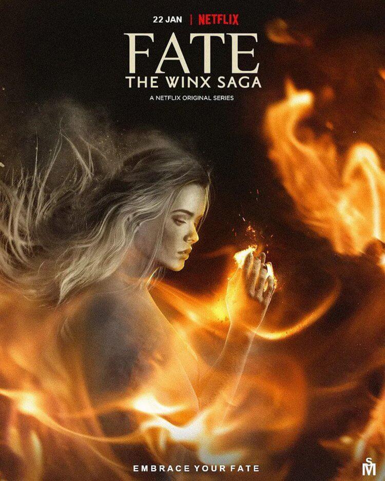 《Fate:魔法俏佳人傳奇》預告海報。