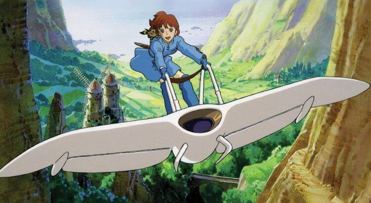 宮崎駿動畫電影《風之谷》。