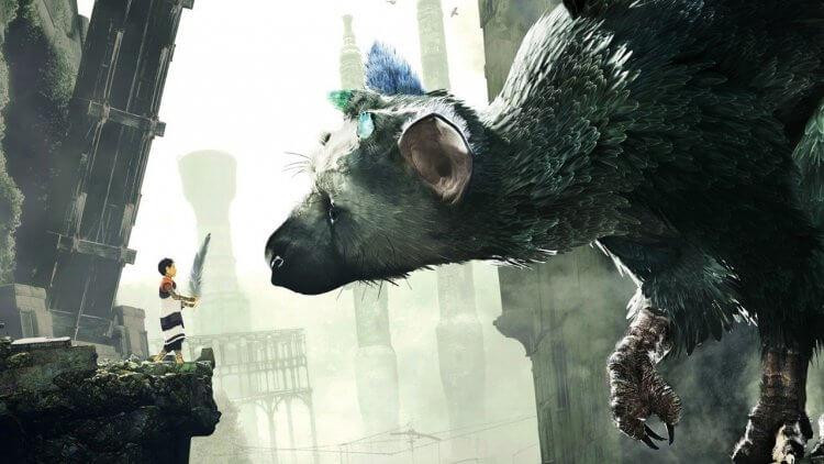 像奉俊昊電影《玉子》描述人與動物間的情感故事,PS4 遊戲《食人巨鷹》掌握的十分出色且感人。