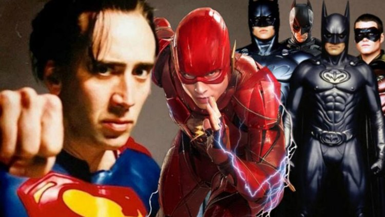 凱吉將於《閃電俠》電影圓夢演超人?方基墨、喬治克隆尼、克里斯汀貝爾被邀回歸「蝙蝠俠」身份首圖