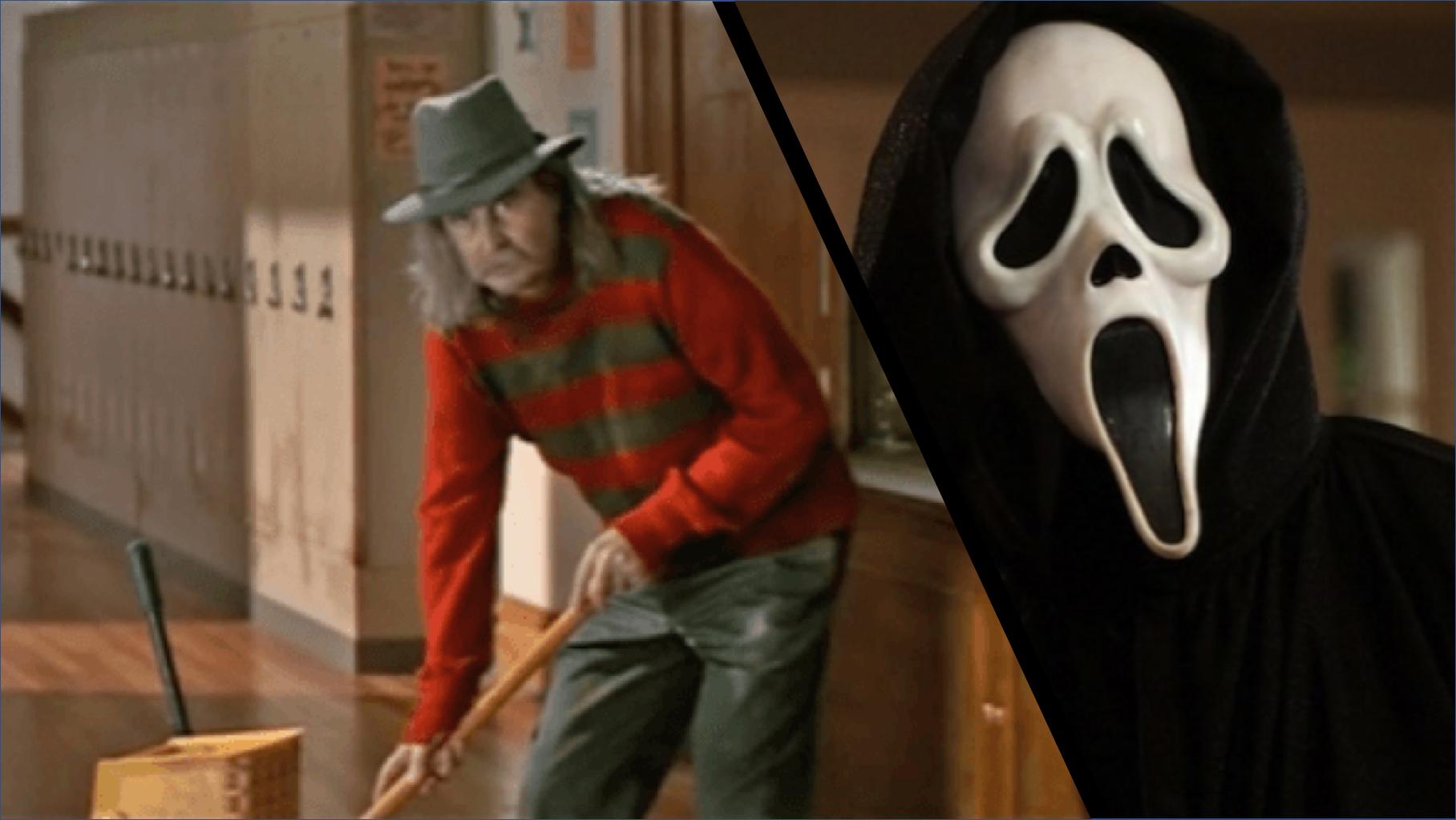 《驚聲尖叫》裡Cos鬼王佛萊迪的校工原來是導演本人 !  十位在自己作品裡客串的恐怖導演首圖